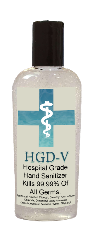 HGD-V Household Super Value Pack - 3 HGD-V Disinfectants, 1 Hand Sanitizer Spray with 2 Refills, 1 Gel Hand Sanitizer with 2 Refills, 1 Kitchen Surface (powerful HGD-V Ingredients, Save 25%)