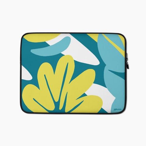 Nature's Particles I Laptop Sleeve - bkzcreative