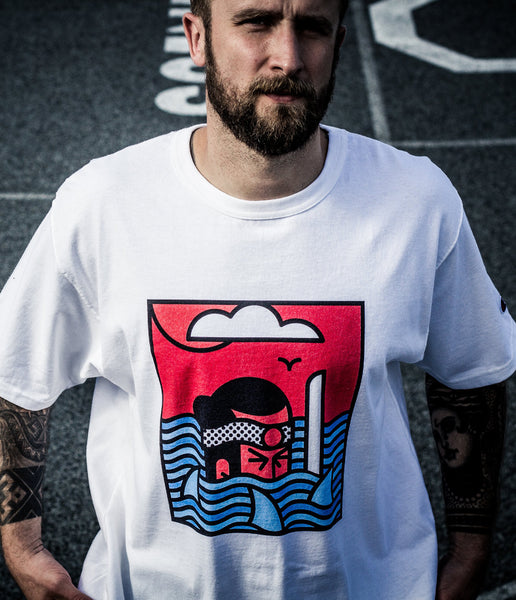 Lonely Samurai T-Shirt - bkzcreative