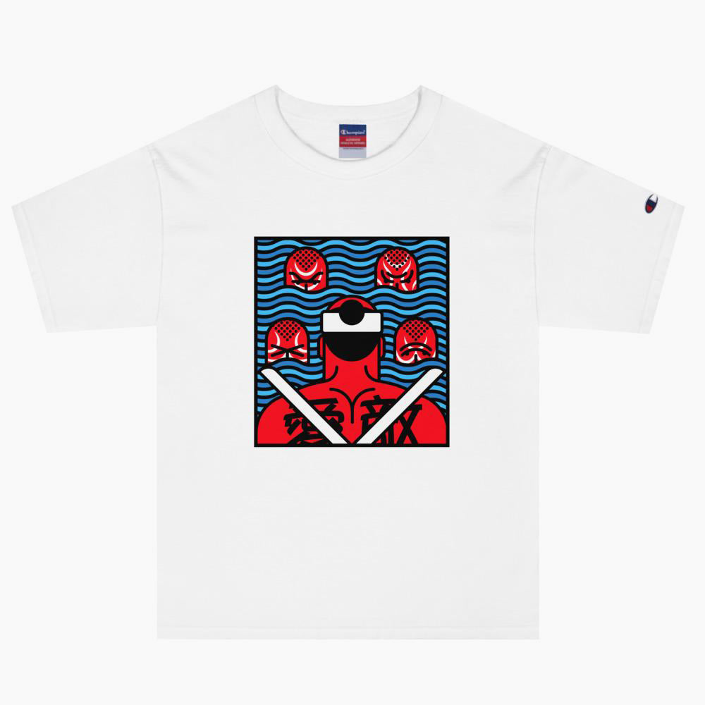 Battle Samurai T-Shirt - bkzcreative