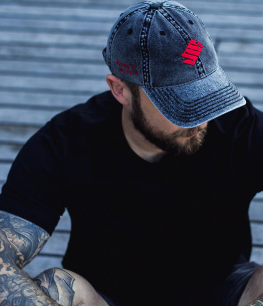 Ruby Snake Cotton Twill Cap - bkzcreative