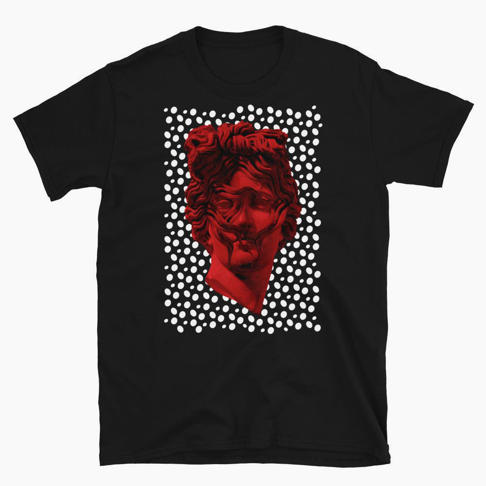 Red Apollo Short-Sleeve Unisex T-Shirt - bkzcreative