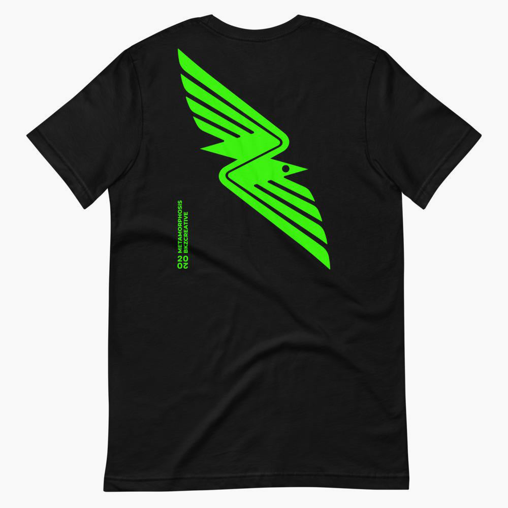 Raven Short-Sleeve Unisex T-Shirt - bkzcreative