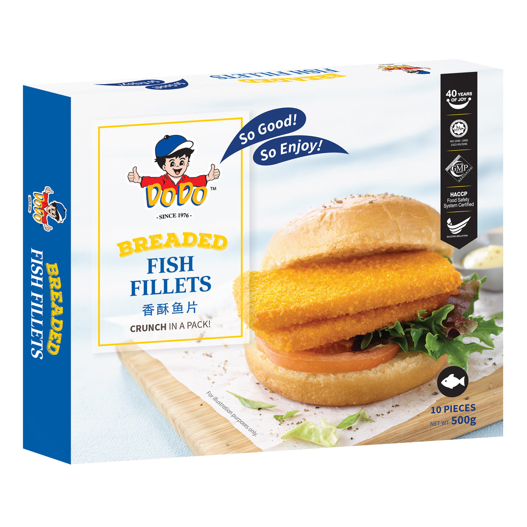 DoDo Breaded Fish Fillets