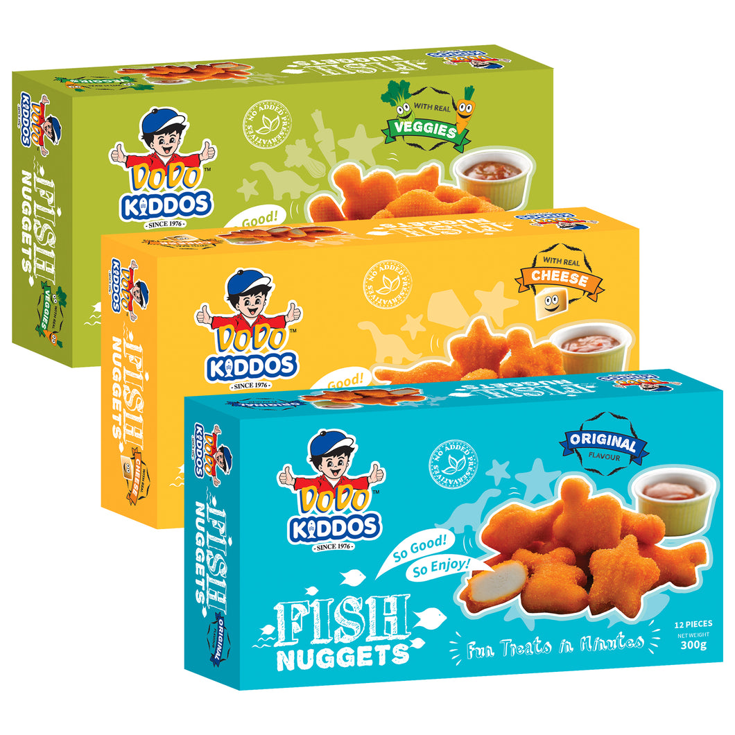 DoDo Kiddos Fish Nuggets