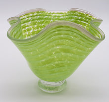 Load image into Gallery viewer, Bowl #7 (Granny Apple Green with Pink Lipwrap)