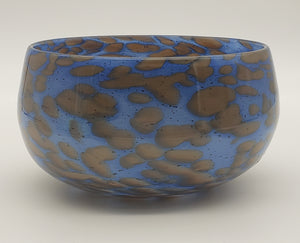 Bowl #* (Blue and Brown)