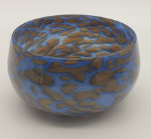 Load image into Gallery viewer, Bowl #* (Blue and Brown)