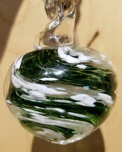 Load image into Gallery viewer, Memorial Glass Small Orb Pendant (nine color options)