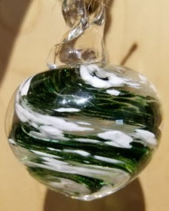 Memorial Glass Small Orb Pendant (nine color options)