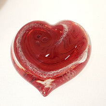 Load image into Gallery viewer, Memorial Glass Heart (nine color options)