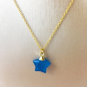 Candy Blue Star Pendant