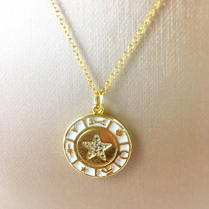 Lucky Star Coin Pendant