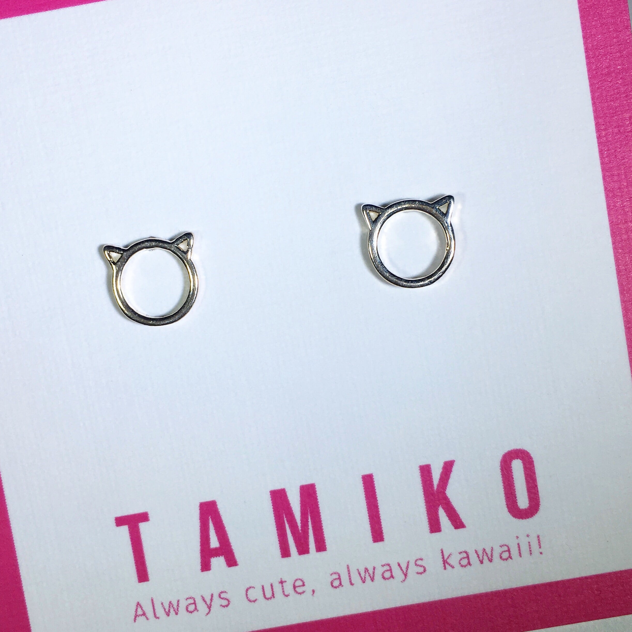Kawaii Kitty Studs