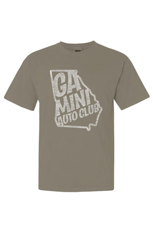 2020 GAMINIAC in White Inside Out on Comfort Colors Khaki