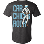 Car Chicks Rock 3001C Unisex Jersey Short-Sleeve T-Shirt