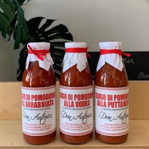 Don Antonio Pasta sauces
