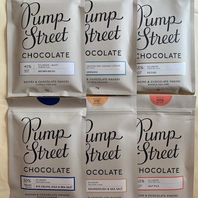 Pump St Chocolate 70g