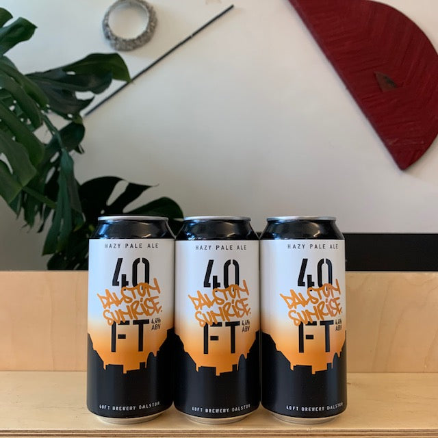 Dalston Sunrise - 40ft  Brewery (Pale Ale), 440ml, 4.4%