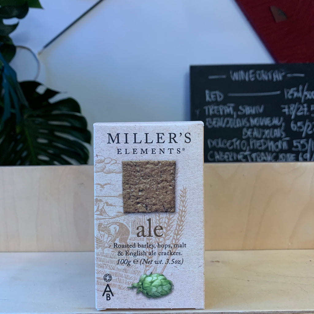 Miller's Elements Ale Crackers 100g