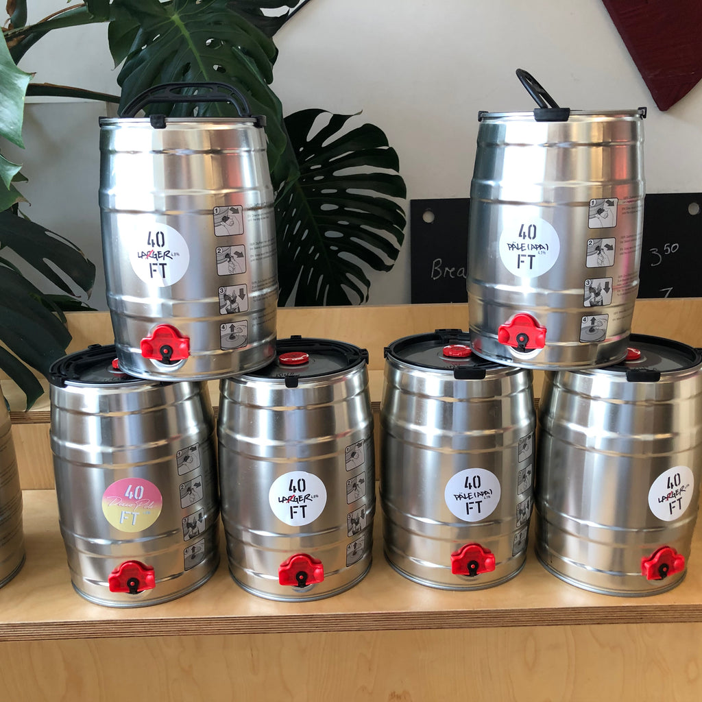 40ft Brewery mini keg