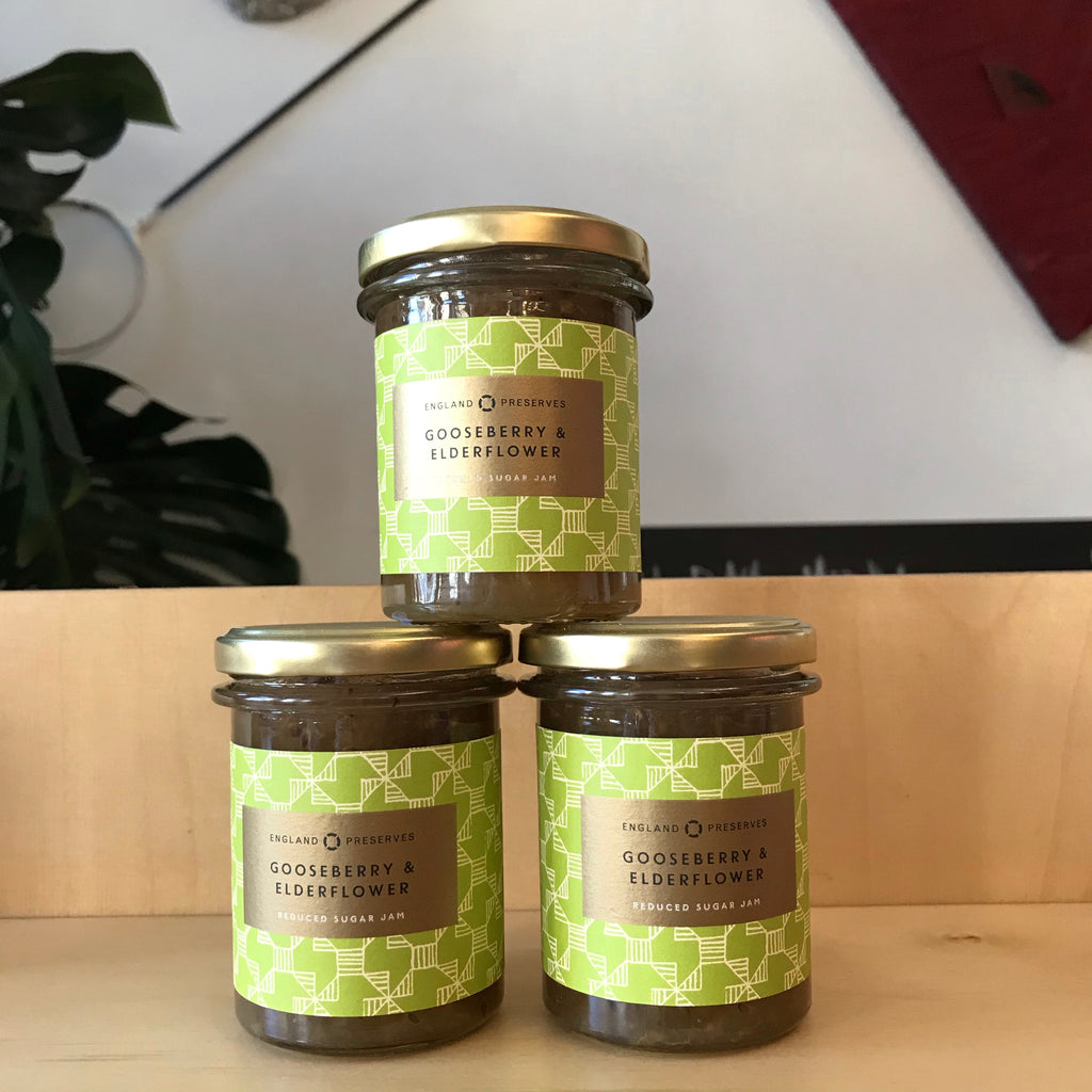 England Preserves - Gooseberry and Elderflower - 230g