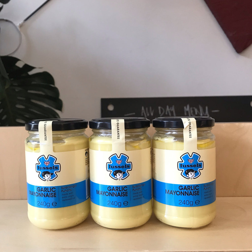 Fussels Rapeseed Mayonnaise with Garlic 240g