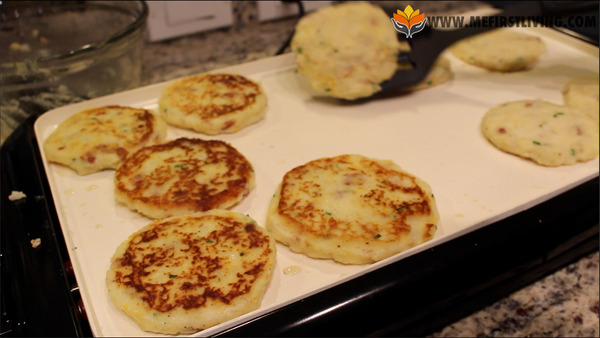 Flip Mashed Potato Pancakes Recipe