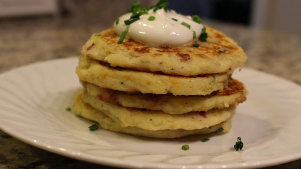 Enjoy Mashed Potato Pancakes Recipe