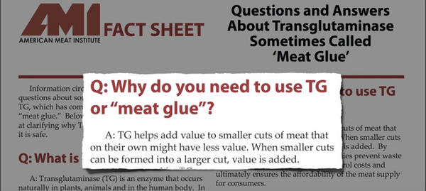 Meat Glue Why