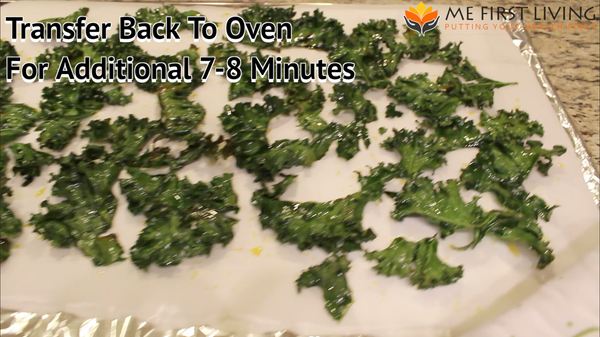 Transfer Kale Chips Back To Oven