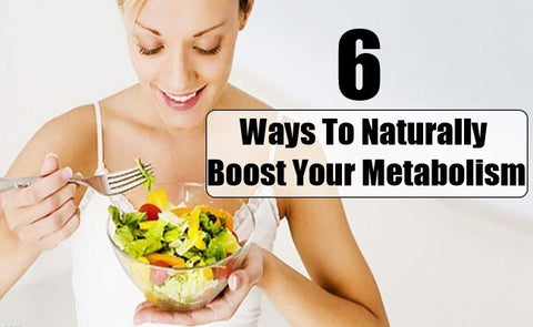 ways to boost metabolism naturally