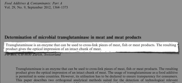 What Is Meat Glue Transglutaminase