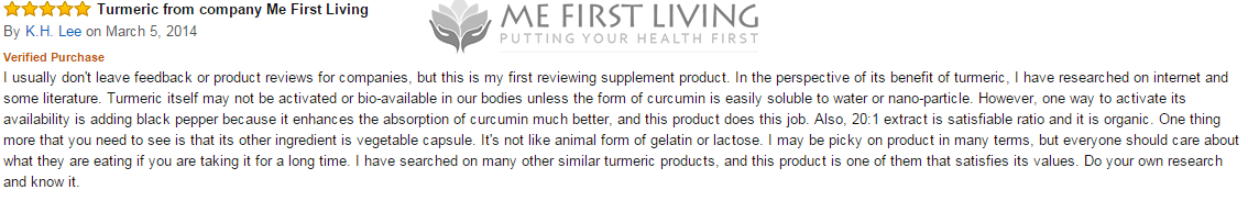 me first living turmeric review