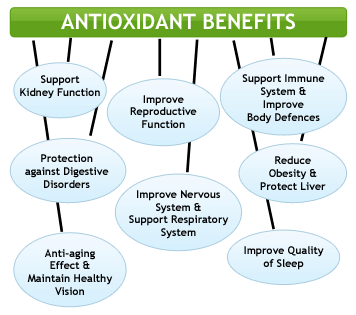 anti-oxidant benefits