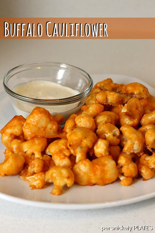 cauliflower buffalo chicken