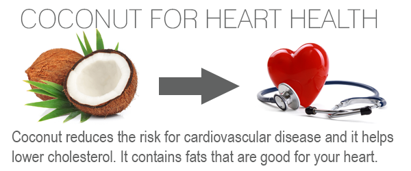 coconut oil for heart health