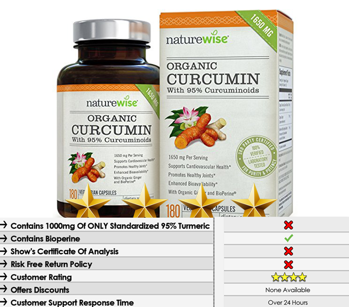 Nature Wise Turmeric Curcumin