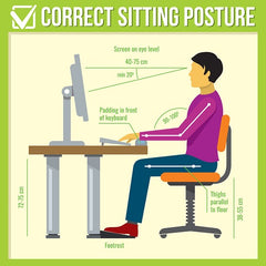 sitting posture back pain