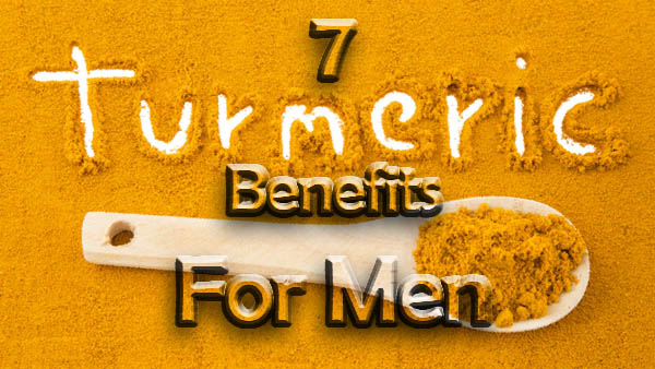 turmeric benefits for men