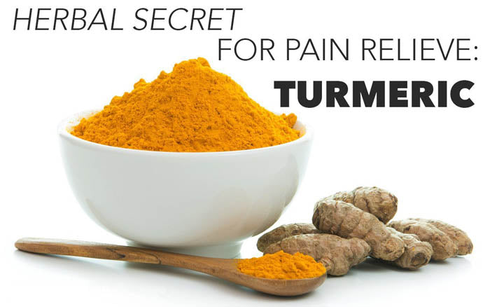 turmeric natural pain relief