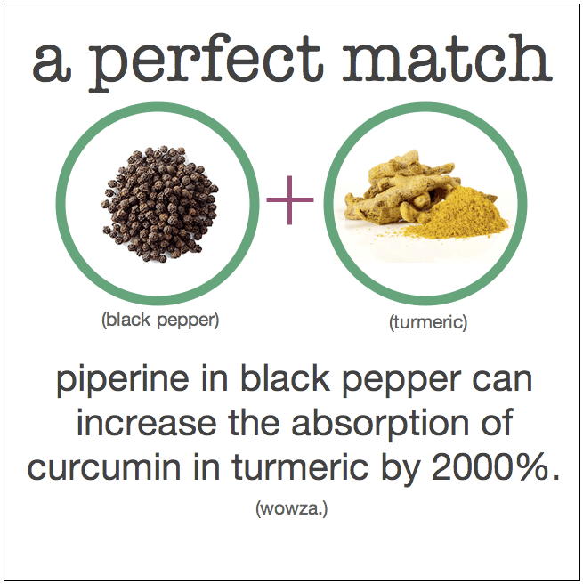 turmeric black pepper benefits