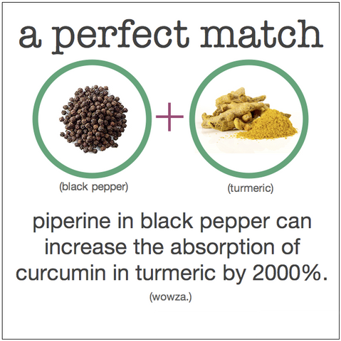 turmeric with black pepper