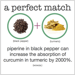 turmeric curcumin black pepper