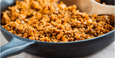 vegan ground meat