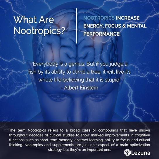 Mental Acuity Nootropic Supplement - 60 Capsules