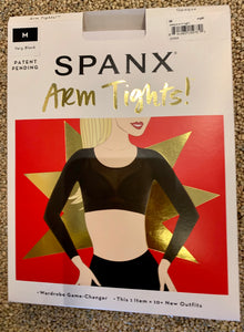 Spanx arm tights zwart