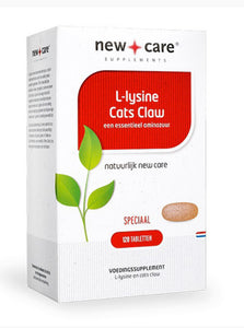 New care L lysine cats claw