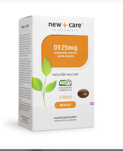 New Care D3 25mg / 75 mg