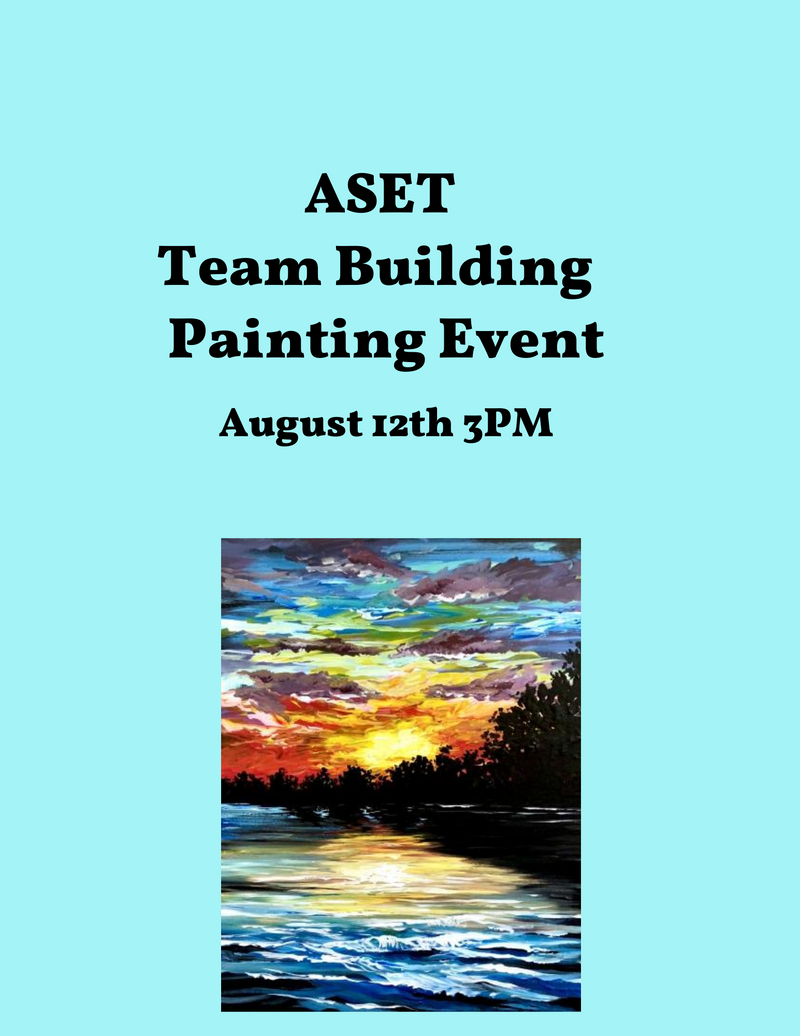 Genentech -Private Event -ASET Team Building Event 8/12 3pm PST
